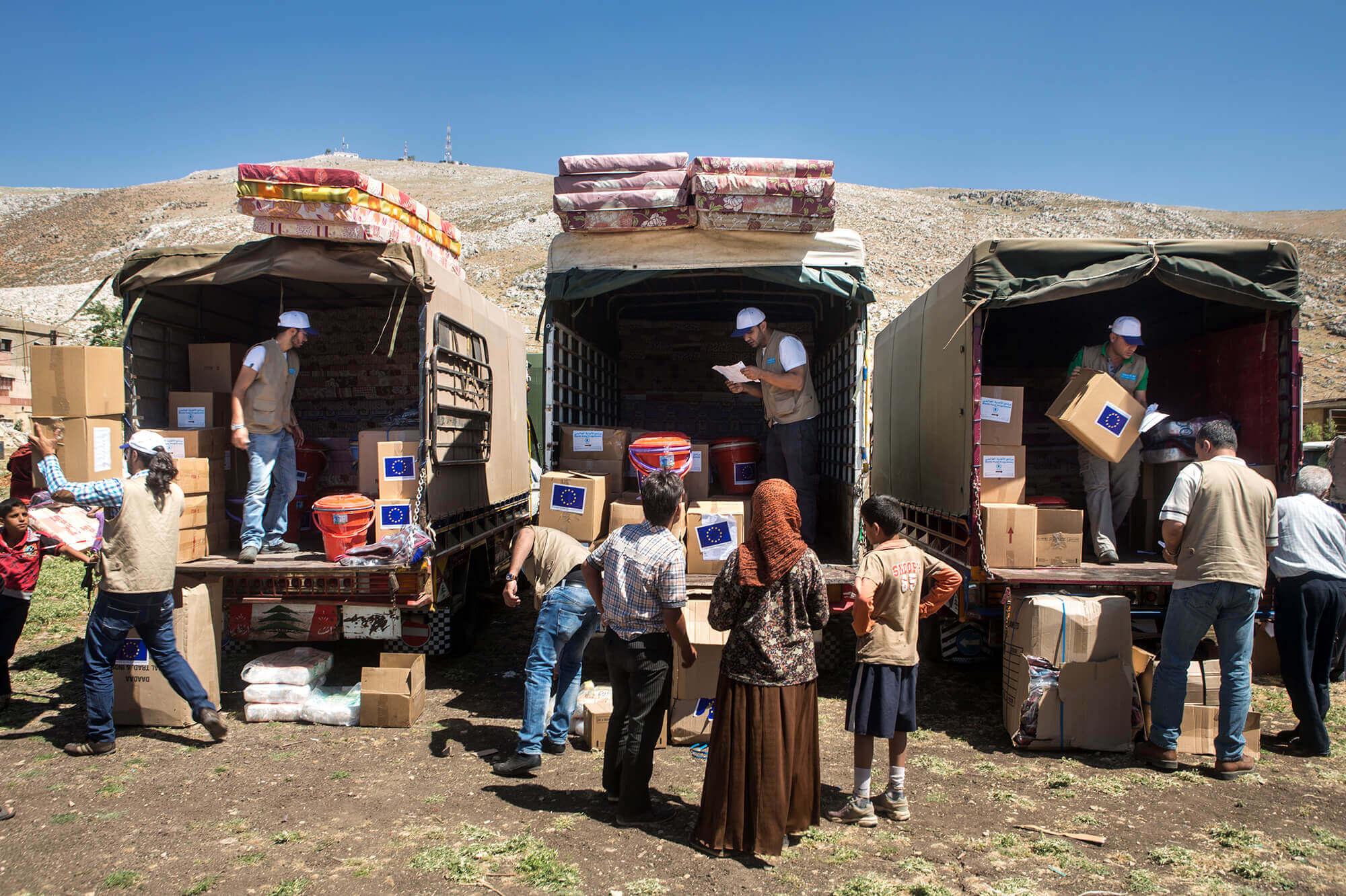 Urgence Syrie / Liban, Plaine de la Beeka