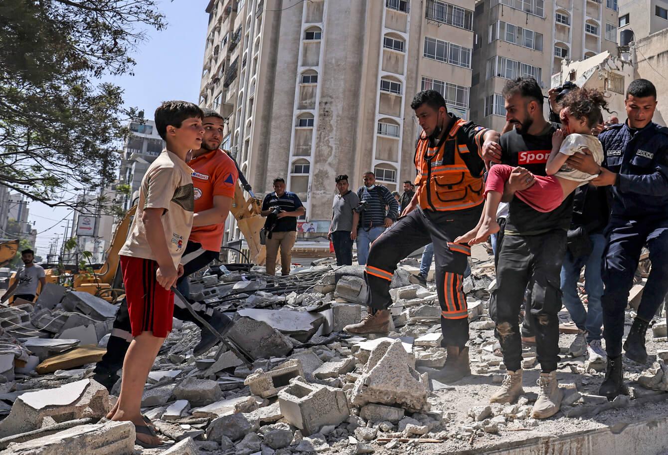 Gaza. Face aux violences, les ONG d'Alliance Urgences se mobilisent ensemble